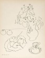 Estampes, gravures et lithographies du XIXe siècle et avant encadrés nature morte
