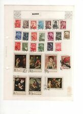 RUSSIA POSTAGE STAMP COLLECTION APPROX 27