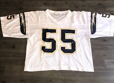 San Diego Chargers Junior Seau Jersey 55 L