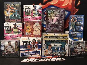 Miami Heat - 2021 NBA PRIZM + IMPECCABLE 10 HOBBY BOX CASE BREAK