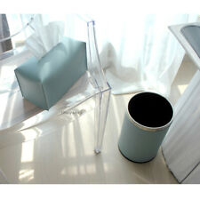 Urethane Leather Tissue Box Covers Tissue Case Cover Tissue Holder Tiffany Mint