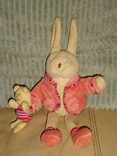 """Jelly Kitten Carino 10"""" Crema musicale Peluche Bunny Rabbit giocattolo Teddy Baby succhietto"""