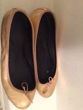 Saint Laurent Gold/Bronze Metallic Ballet Flats-Size 8 $199