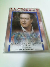 "DVD ""LA OBSESION"" ROGER CORMAN RAY MILLAND HAZEL COURT RICHARD NEY HEATHER ANGEL"