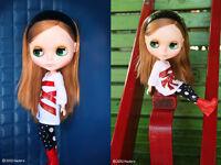 "CWC Takara Tomy Neo Blythe Doll Simply Delight 12"" 1/6 Fashion Doll"