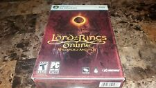 Lord of the Rings Online: Shadows of Angmar PC sealed disc+ mines soundtrack lot