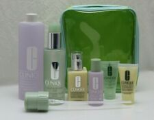 CLINIQUE 6Pcs Set, Liquid Soap, Exfoliator Lotion, Moisturizing Lotion + Bag NEW