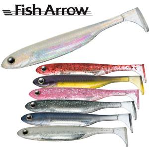 "FISH ARROW Fishing Realistic Soft Bait Lure FLASH-J SHAD 4"" SW PLUS"