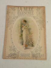 La mode Illustree Journal de la Famille ~ Womens Fashion & Lace ~ 1913