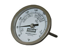 "3 inch Dial Thermometer 1/2"" NPT for Brewing - Blichmann BrewMometer"
