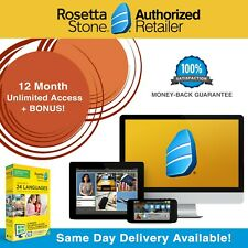 Rosetta Stone® Homeschool Course 12 Month Download Lessons Headset Pick Language