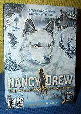Nancy Drew: The White Wolf of Icicle Creek PC CD-ROM CIB