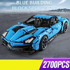 Azzurro Auto 42056 42083 42065 Blöcke MOC technic 42111 42115 Bauteile Bausteine