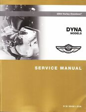 2003 Harley Dyna FXD Service Repair Shop Workshop Manual Book 99481-03A
