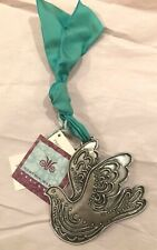 CYNTHIA WEBB PEWTER WALL HANGING / ORNAMENT - PEACE DOVE