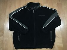 VTG Pelle Pelle Marc Buchanan Mens Vtg Track Jacket Zipper Black Sz XL
