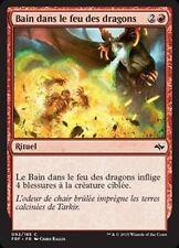 MTG Magic FRF - (4x) Bathe in Dragonfire/Bain dans le feu des dragons, French/VF
