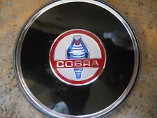 1960's SHELBY COBRA AC COBRA 289 260 427 S/C STEERING WHEEL EMBLEM FOR WOOD WHEE