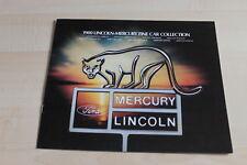 112954) Mercury Lincoln Continental Zephyr Bobcat - USA - Prospekt 1980