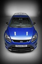Ford Focus RS - 30x20 Inch Canvas Art Work - Framed Picture Poster Print