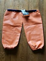 NEW Grundens Men's Brigg Fishing Sleeves, Orange - One Size - New With Tags