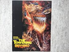 The Towering Inferno (Tour Infernale) McQueen PRESS BOOK dossier cinema EO 1974