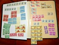 CatalinaStamps: US Stamp Collection in Blue-Ribbon Stock Album, 710 Stamps, D106