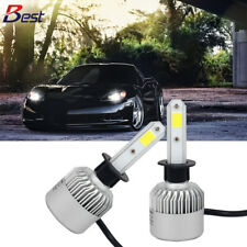 2x H1 LED Chips Headlight Kit Bulb 8000LM 6500K White FOR 2015 Toyota Tundra 72W