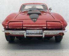 1 Chevy 1960s Vette Corvette Sport Race 18 Car 64 Vintage 24 Carousel Red 12