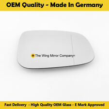 Right Side Wide Angle Wing Mirror Glass For Volvo V50 Fits to reg 2010 to 2012