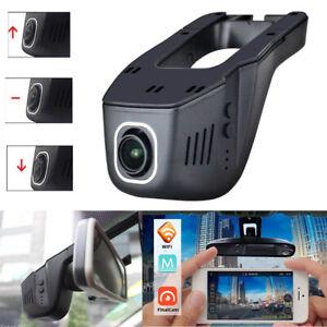 Hidden Wifi Car DVR 1080P HD Camera Video Recorder Dash Cam Night Vision