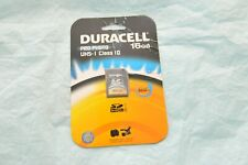 Duracell 16GB SD Memory Card for Canon 60D 70 80 1Dx Nikon D5 850 810 4 3 2