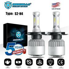 New listing Cob H4 9003 255000Lm 1700W Led Headlight Kit Hi/Lo Beam Bulbs 6000K White