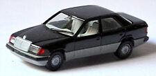 Mercedes Benz E-Class 300E W124 Facelift Limousine 1989-93 Black 1:87 Herpa
