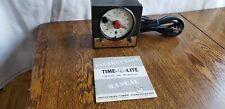 Vintage Master Time-O-Lite P-59 60s Darkroom Safelight Enlarger Timer
