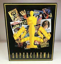 Supercinema Trading Card Series - Binder, Pages, 144 Card Set, Book, & Hard Case