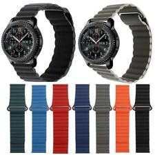 Magnetic Leather Loop Watch Band For Samsung Galaxy Watch Active 2 Gear 40/42/44