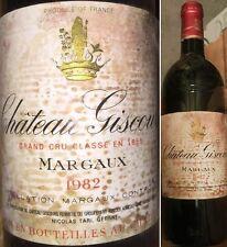 Château GISCOURS 1982  Margaux 3° Grand Cru Classé  -15%