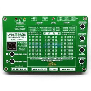 New Multi-function LVDS LCD Screen Tester LCD LED Panel Detection Tool 2048x1536