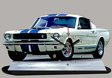 AUTO MINIATURA, FORD MUSTANG SHELBY 1965 -05, AUTO IN OROLOGIO MINIATURA