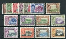 Dominica 1938-47 set SG99/109 MM