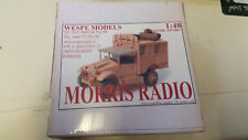 Morris Radio Wespe Resin Models 1:48 Wes 48007.2