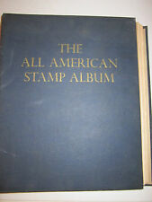 1960 THE ALL AMERICAN STAMP ALBUM BOOK BY MINCUS - NO STAMPS  - NICE