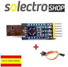 CONVERTIDOR USB 2.0 A RS232 UART TTL SERIAL CP2102 PARA ARDUINO PRO MINI C0001
