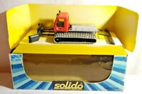SOLIDO TONER GAM IV DIECAST WIDE-TRACKED SNOW PLOUGH WITH SPREADER - BOXED