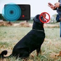 Outdoor Ultrasonic Pet Dog Barking Stop Anti Bark Control Device Sonic Silencer'