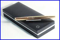 1974 - 75 MONTBLANC 1276 SOLID 585 GOLD MEISTERSTUCK Kolben Füller OM 750 Feder