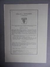 Généalogie - Famille : Collas-Du Longprey.