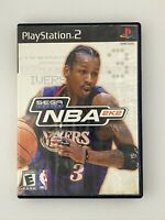 NBA 2K2 - Playstation 2 PS2 Game - Tested