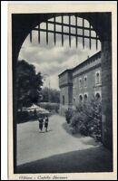 Milano Mailand Italien Postkarte ~1920/30 Castello Storzesco Burgtor Eingang